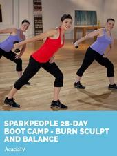 Ver Pelicula SparkPeople: 28-Day Boot Camp - Burn Sculpt y Balance Online