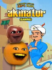 Ver Pelicula Clip: Annoying Orange & amp; Midget Apple Let's Play - Akinator (Juegos) Online