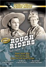 Ver Pelicula Rough Riders Triple Característica, vol. 3 Online