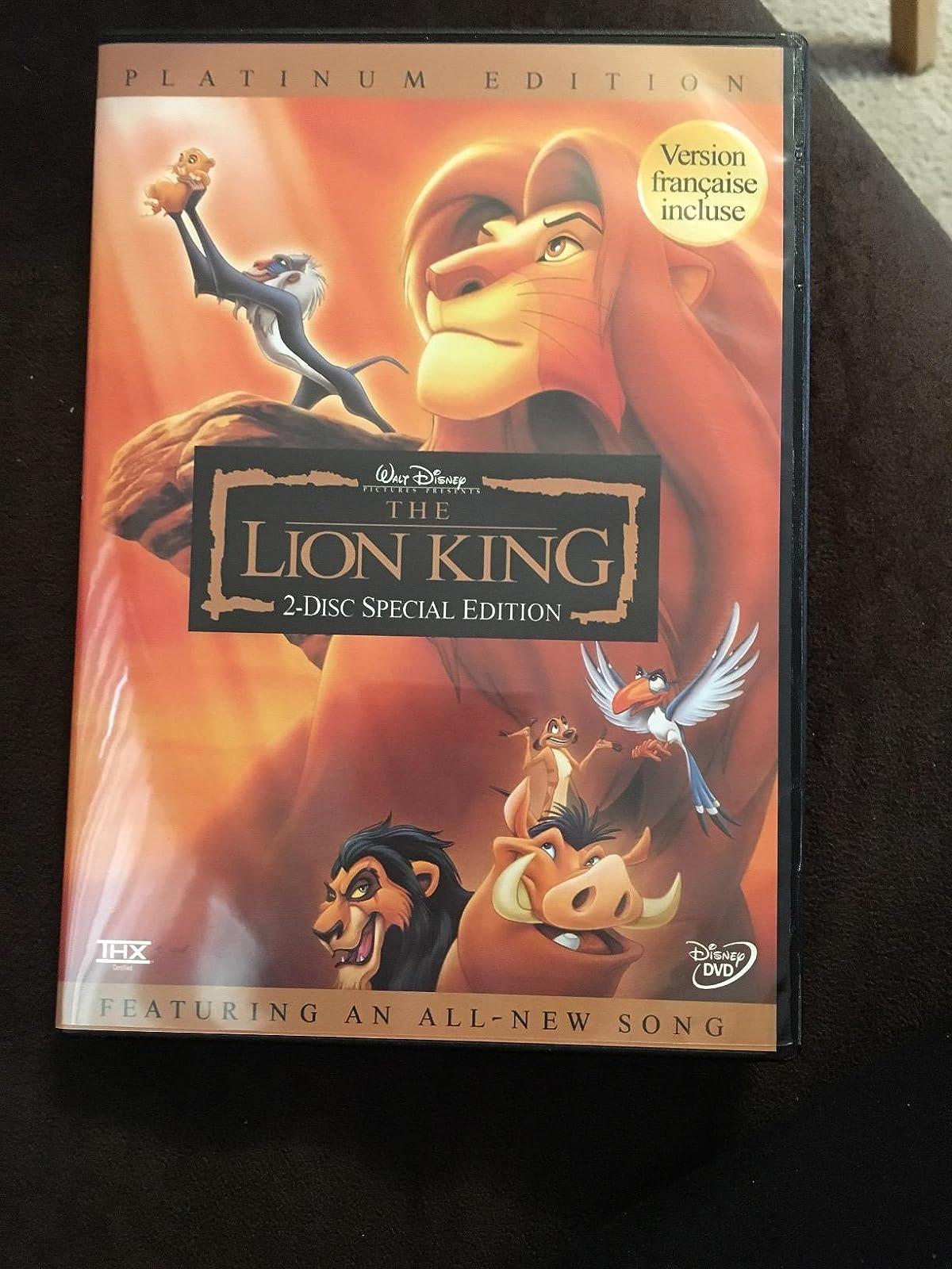 ver el rey le u00f3n 1994 online gratis