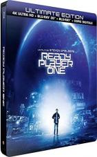 Ver Pelicula Ready Player One: 4K HDR, 3D & amp; 2D Ultimate Edición Limitada Steelbook Online