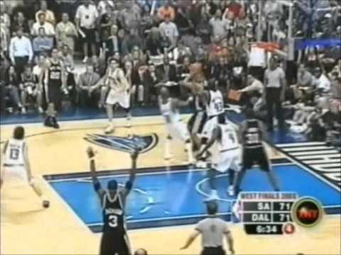 Spurs 42-15 Run vs. Mavericks (2003 WCF Game 6)